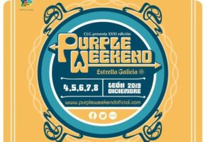 Purple Weekend 2019 | Cartel y Entradas