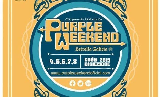 Purple Weekend 2019 | Cartel y Entradas