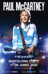 paul mccartney barcelona 2020