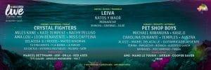 mallorca live festival 2020 cartel dias