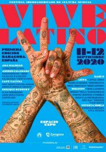 vive latino 2020 cartel
