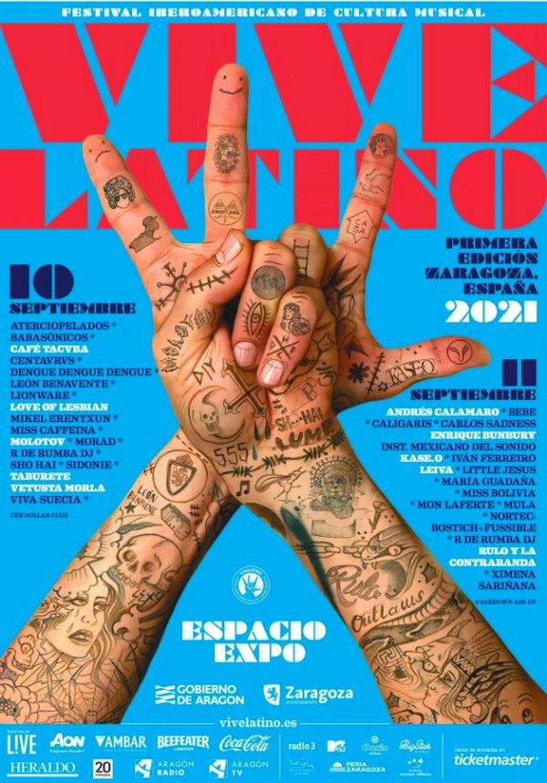 vive latino 2021 cartel