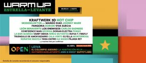 warm up festival 2020 cartel