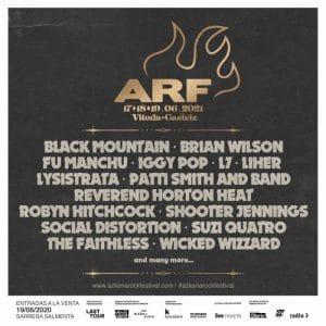 azkena rock festival 2021 cartel