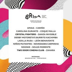 brisa festival 2020 cartel