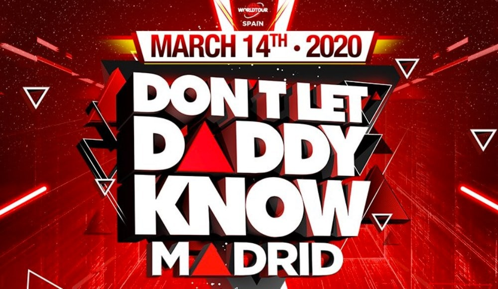 Don't Let Daddy Know Madrid 2020 – Confirmaciones, cartel y entradas