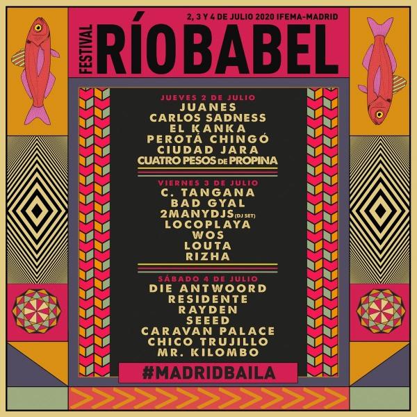 festival rio babel 2020 cartel