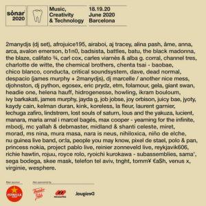 sonar festival 2020