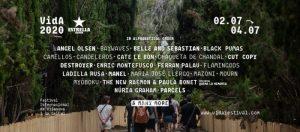 vida festival 2020 cartel
