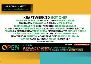 warm up festival 2020 cartel