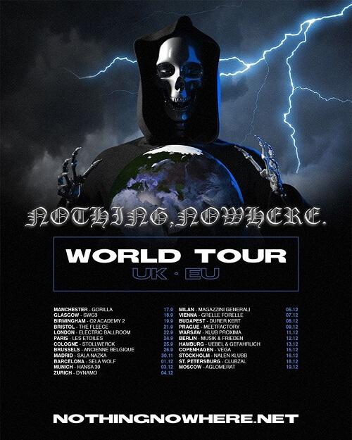 Tour Europeo de Nothing nowhere