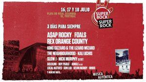 Line Up Super Bock Super Rock 2020