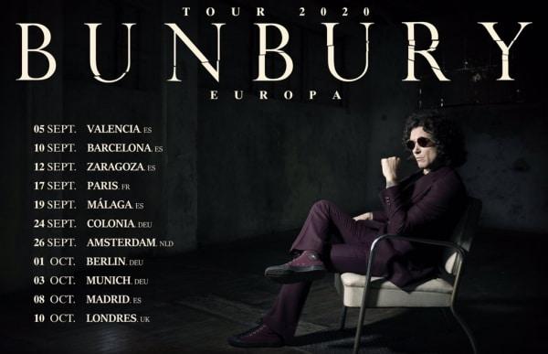 bunbury gira espana 2020
