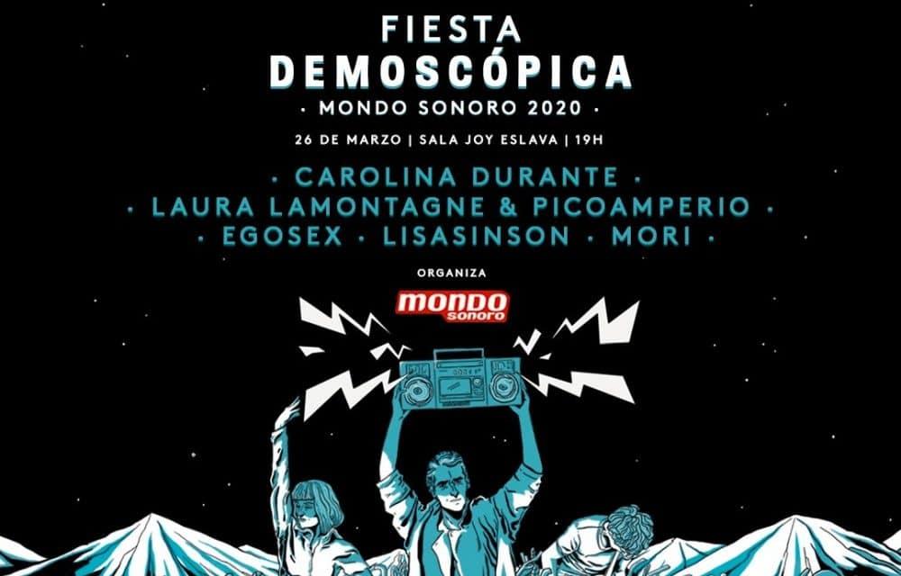 Fiesta Demoscópica 2020 – Cartel y entradas
