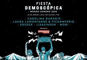Fiesta Demoscópica 2020 - Cartel y entradas