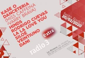 Fiesta Radio 3 Extra 2020 - Cartel con Kase.O, Dancetería, Hinds...