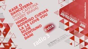 fiesta radio3 extra 2020 cartel