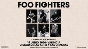 foo fighters concierto valencia 2020