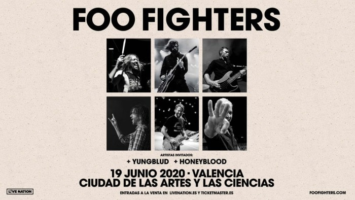 foo fighters concierto valencia 2020