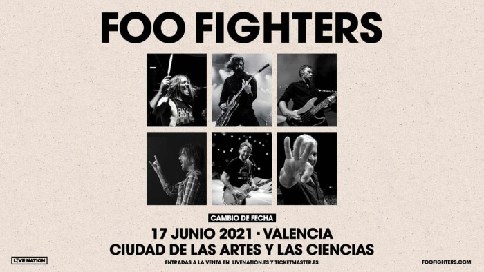 foo fighters valencia 2021