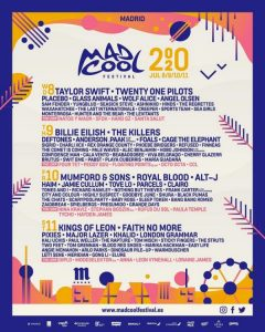 mad cool 2020 cartel completo