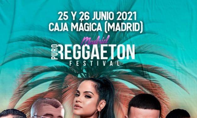Madrid Puro Reggaeton Festival 2021 – Confirmaciones, cartel y entradas