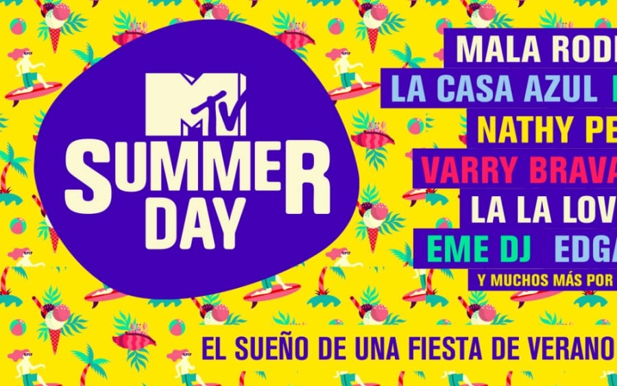 MTV Summer Day 2020 – Cartel y entradas