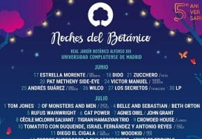 Noches del Botánico 2020 desvela su cartel: Tom Jones, Wilco, Cat Power...