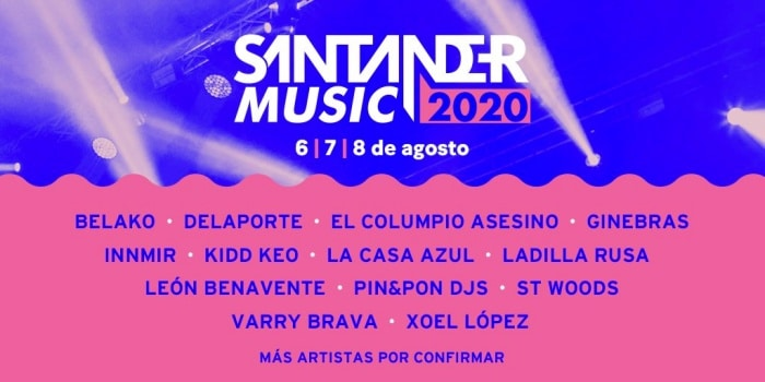santander music 2020 cartel