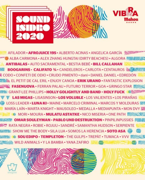 sound isidro 2020 cartel completo