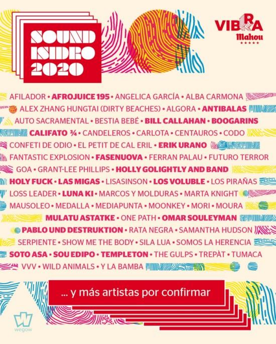 sound isidro 2020 cartel