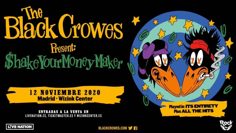 the black crowes wizink center 2020