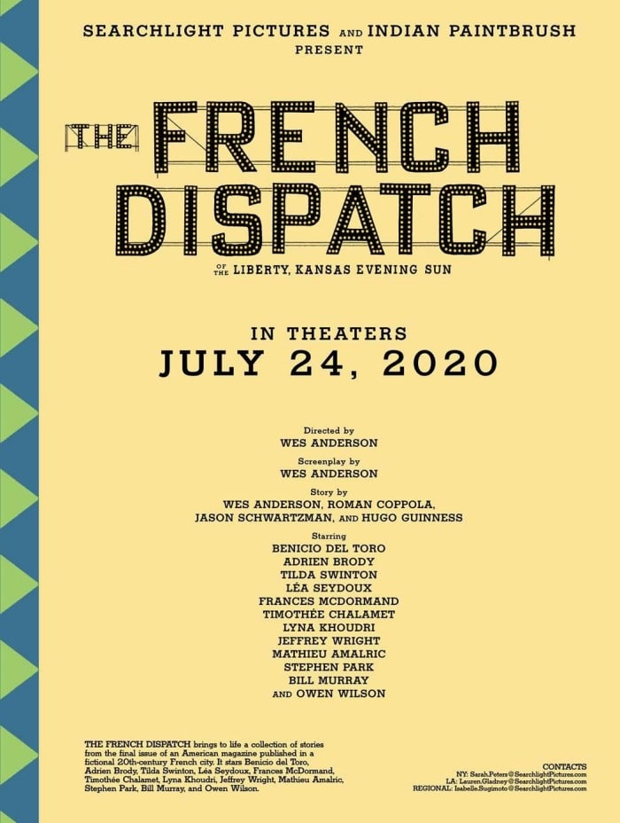 the french dispatch cartel