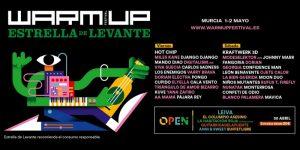 warm up festival 2020 cartel dias