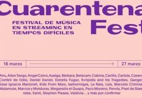 Cuarantena Fest, el festival en streaming - Cartel, conciertos y horarios