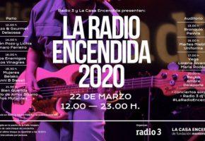 La Radio Encendida 2020 - Cartel, conciertos, entradas y horarios