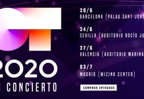 OT 2020 - Gira y conciertos por España | Entradas