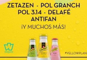 YellowPlans by Schweppes 2020 - Entradas Pol Granch, Zetazen, Delafé...