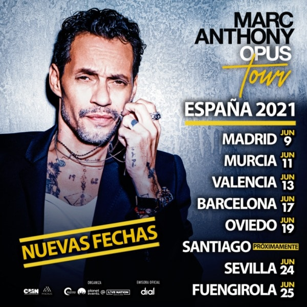 marc anthony opus tour 2021