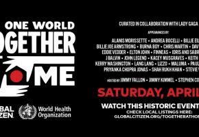 One World Together At Home - ¿Dónde verlo y qué artistas actúan? | Cartel