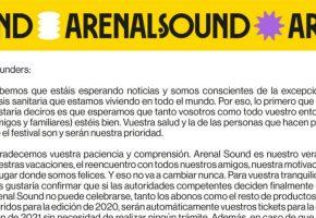 Arenal Sound, a la espera del Gobierno para decidir sobre su edición