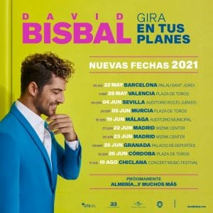 david bisbal fechas 2021