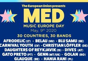 Music Europe Day - Dónde ver online, cartel y horarios | Día de Europa