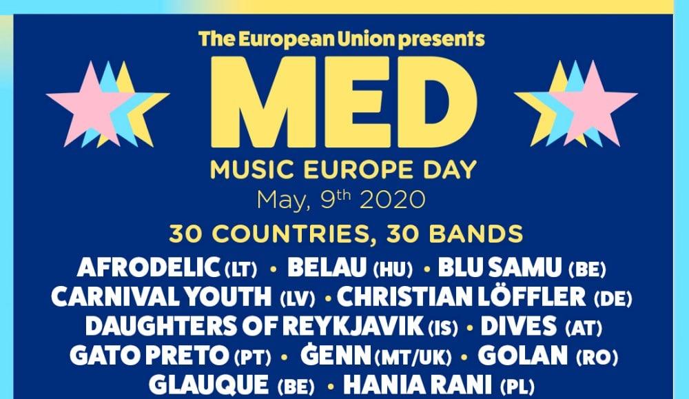 Music Europe Day – Dónde ver online, cartel y horarios | Día de Europa