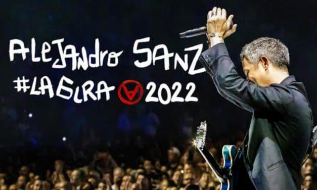 Conciertos de Alejandro Sanz en España – 2022 – Entradas #LaGira