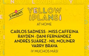 yellow plans at home