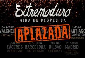 Extremoduro - El 31 de julio se decidirá la fecha de inicio de su gira por España