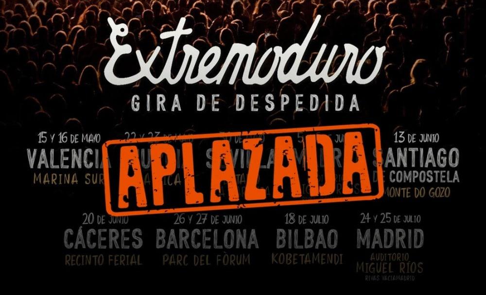 Extremoduro – El 31 de julio se decidirá la fecha de inicio de su gira por España