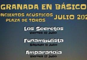 Granada en Básico 2020 - Conciertos, entradas, fechas y horarios