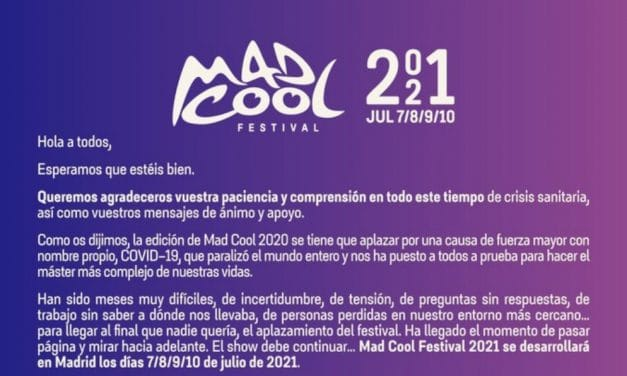 Mad Cool 2021 anuncia el día que desvelará su cartel y su política de devoluciones